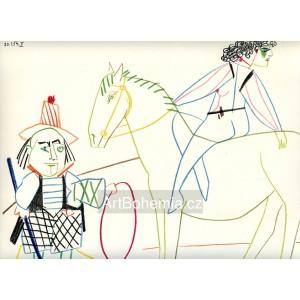 Circus Rider and Horse Breaker (La Comédie Humaine) (30.1.1954 II)