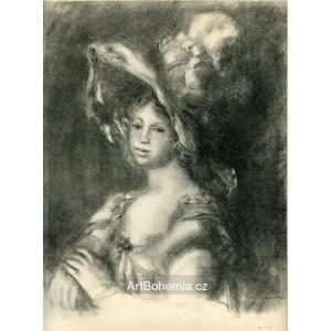 Jeune femme en buste (1893), opus 1