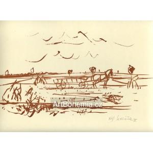 O žních v polích (Žně), 198