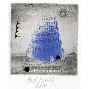 Babylónská věž - PF 1976 Pavel Sukdolák