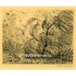 Vrba ve vichřici s krocanem, opus 684