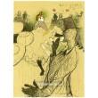 Les Soirs (La Goulue) (maquette) (1891), opus 1