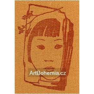 Čínské děvčátko (hnědá varianta)