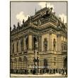 Národní divadlo (Praha v barevných dřevorytech)