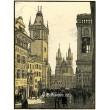 Staroměstské náměstí (Praha v barevných dřevorytech)