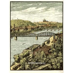 Praha - pohled z Vyšehradu