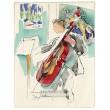 Violoncelle (Hommage à Raoul Dufy) (Lettre à mon peintre)