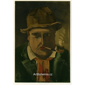 Portrait de l´Artiste - Portrait of the Artist (1922)