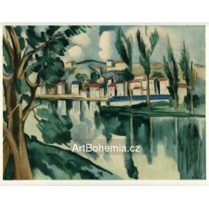 La Seine a Chatou - The Seine at Chatou (1908)