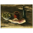 Nature morte au lard - Still Life with Bacon (1927)