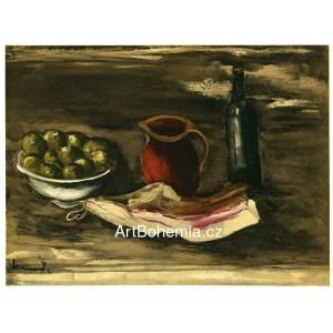 Nature morte au lard - Still Life with Bacon (1927)