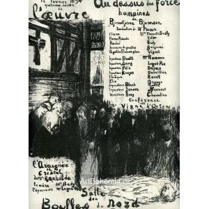 Au-dessus des Forces humaines (1894), opus 18