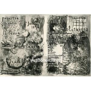 La Revue Blanche transformée - Ames solitaires (1893), opus 19