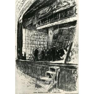 Une Répétition a l´Oeuvre (1893), opus 50