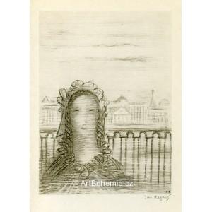 Děvče na břehu Něvy