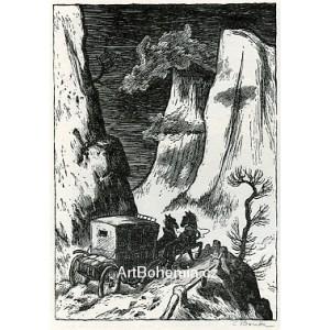 Dostavník v Alpách (Tyrolské elegie), opus 290