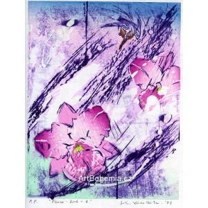 Flower - Bird 4