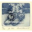 Kotě v papučích - PF 1989 Anna Khunová