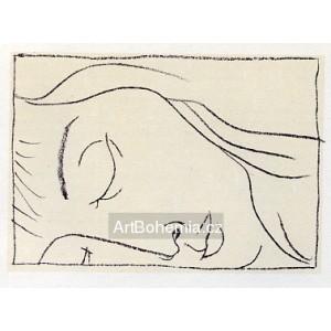 Spící dívka III