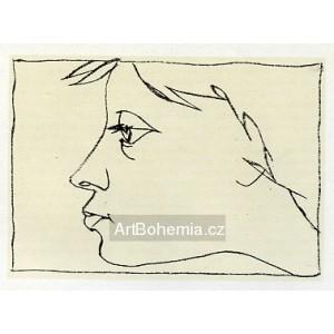 Dívčí profil II
