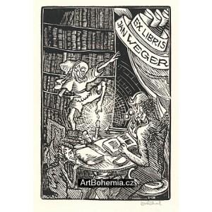 Čtoucí ďáblice a skřítek, opus 253