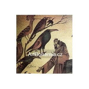 Sv.František káže ptákům