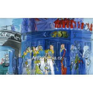 Le Prince de Joinville reçu a bord d´une frégate anglaise (Lettre à mon peintre)