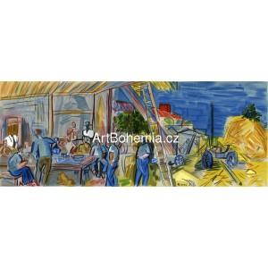 Les Moissonneurs (Lettre à mon peintre)