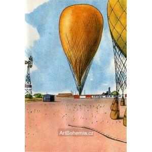 Dva žluté balóny