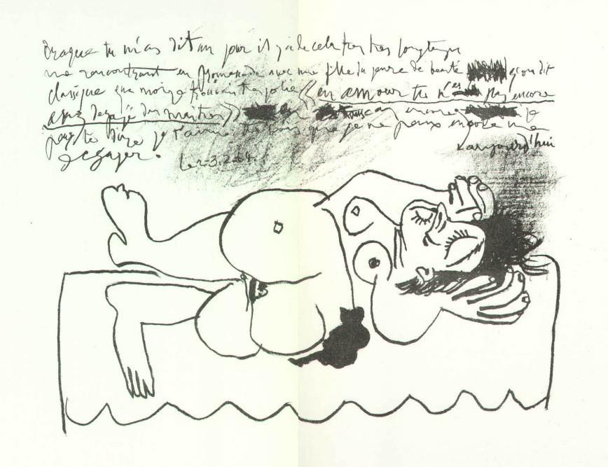 Pablo Picasso - Nu couché, opus 401