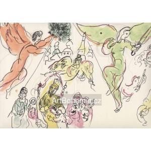 Moussorgsky et Mozart (Červený a zelený anděl) (Opéra de Paris)