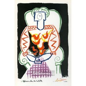 La Femme au fauteuil, opus 69 (16.2.1947)