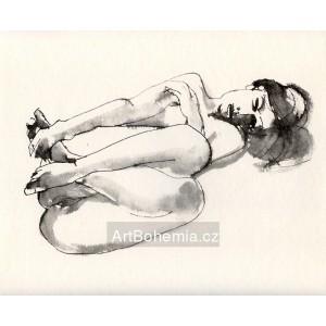 Ležící akt (1971) LI