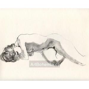 Ležící akt (1971) LVII