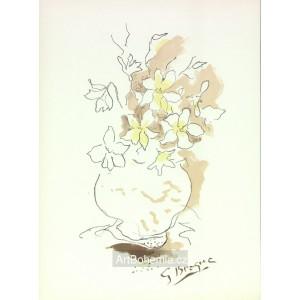 Vase et fleurs I (Carnets intimes)