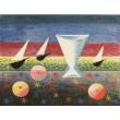 Zátiší s loděmi a jablky (1944)