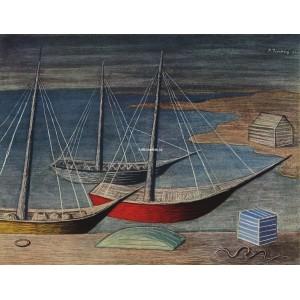 Lodě v noci (1941)