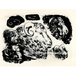 Tętes de béliers (Heads of rams) (7.12.1945)