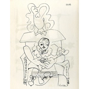 Ines et son enfant (Ines and her child) I (29.1.1947)