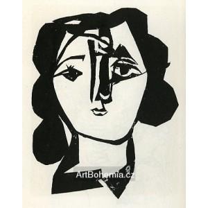 Tête de femme (Woman´s head) (2.11.1946)
