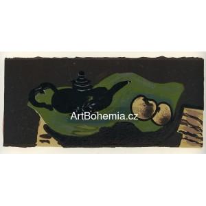 La Théiere et las pommes - état définitif (1946), opus 6