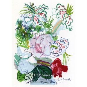 Fleurs à ma bonne amie Marcella (Lettre à mon peintre)