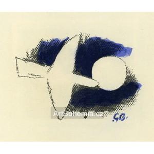 L´Oiseau devant la lune (1958), opus 57