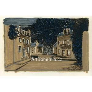 Décor pour les Facheux - Regards sur Paris (1963), opus 107