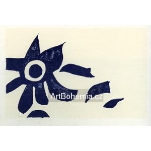 Carte de voeux pour Georges Braque (1962), opus 108