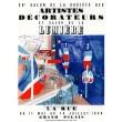 Salon des Artistes décorateurs - Grand Palais, 1939 (Les Affiches originales)