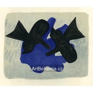 Affiche pour Les Bijoux de Braque (1963), opus 144