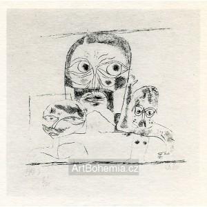 Drei Köpfe (Three Heads) (1919)