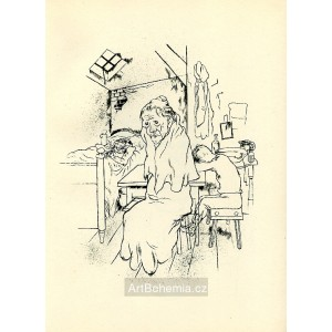 Armut ist ein grosser Glanz von innen (Rilke) (1923)