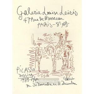 Affiche Galerie Louise Leiris, opus 334 (23.10.1960)